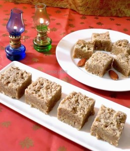 Badam Mysore Paak / Almond fudge