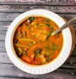 Sambhar Recipe | How To Make Vegetable Sambhar +Video