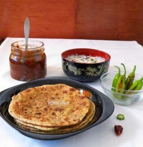Mooli  Paratha ,How to Make Mooli Paratha