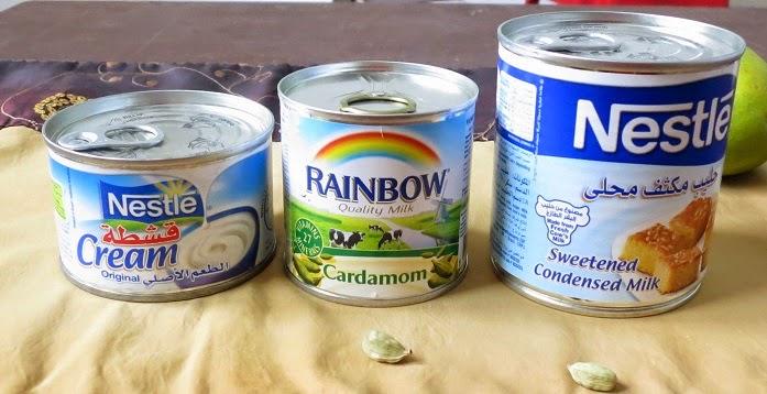mango kulfi ingredients