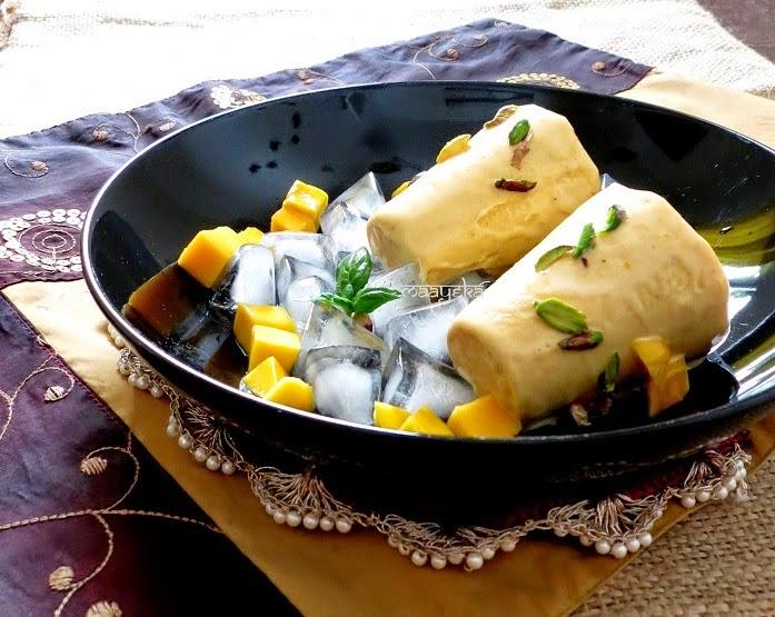 Mango kulfi recipe easy no cook mango kulfi recipe maayeka mango kulfi indian forumfinder Gallery