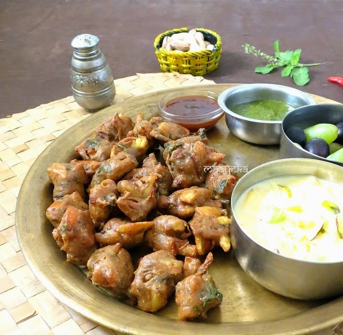 how to make kuttu ki pakodi