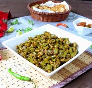 Masala Long beans / Barbatti Masala