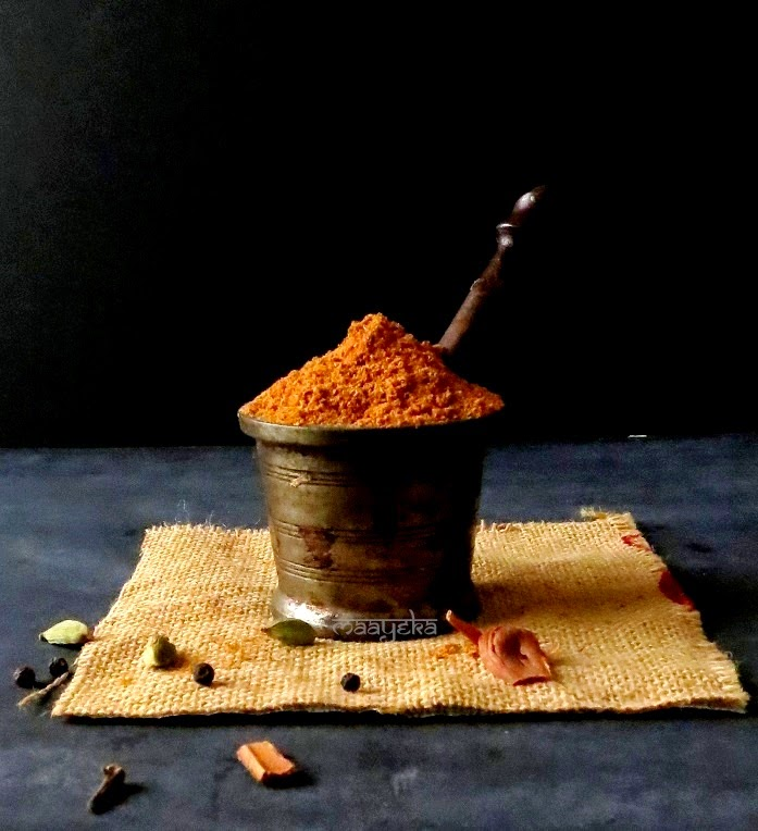 home made tandoori garam masala