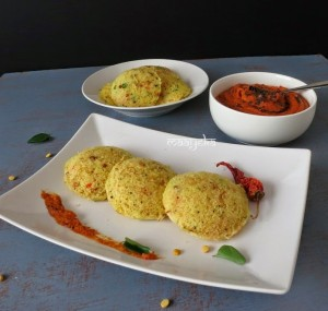 Vermicelli and Semolina Idli /Sooji and Sevai ki idli