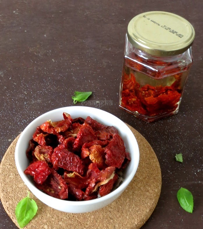 home made sun dried tomatoes