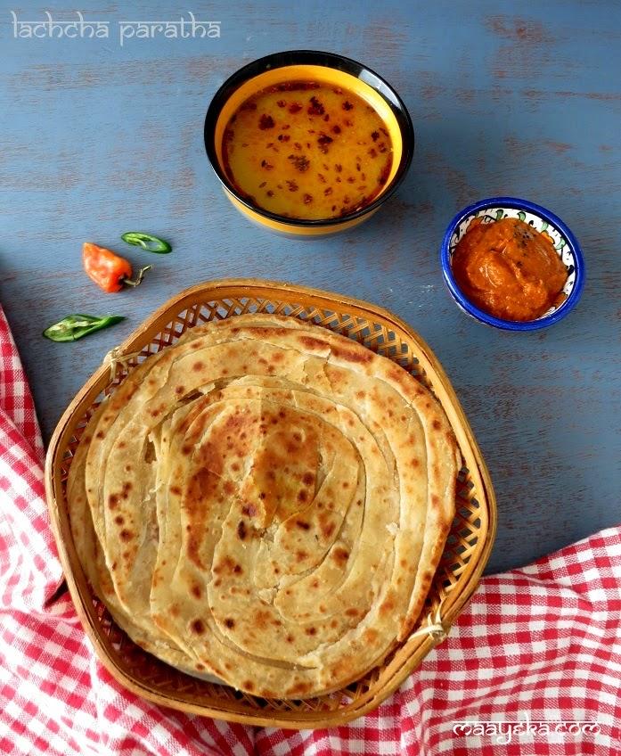 lachcha paratha recipe