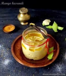 Mango Kasundi / Bengali Mustard Sauce