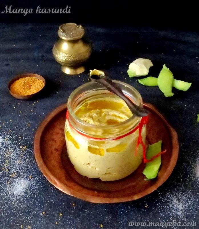how to make bengali mango kashundi