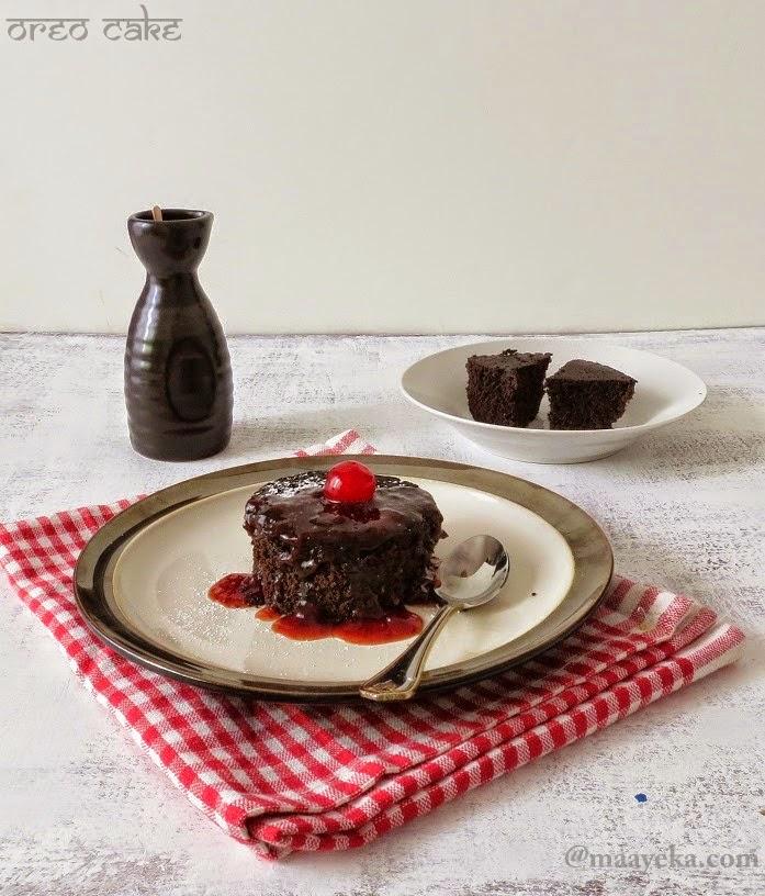 quick and easy microwave oreo cake recipe