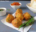 Batata Vada Recipe | How to Make Batata Vada +Video