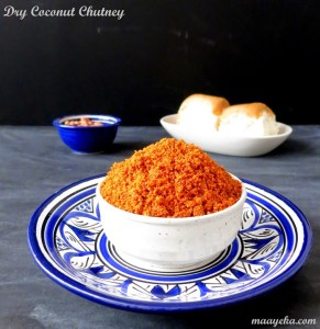 Dry Coconut Chutney – for Vada Pav