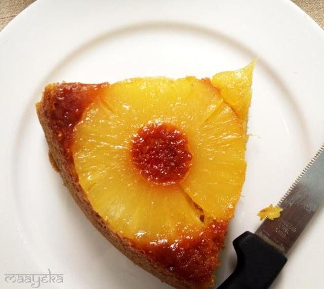 pineapple cake eggless
