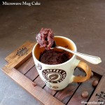 1 Min Chocolate Mug Cake – Eggless
