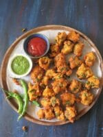 Moong Daal Pakora Recipe, How To Make Moong Daal Bhajiya