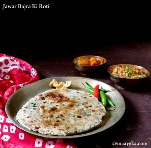 Jawar Bajra Ki Roti
