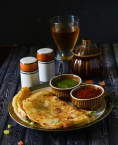 How to make Sooji Cheela, Rava Uttapam,Rava Cheela