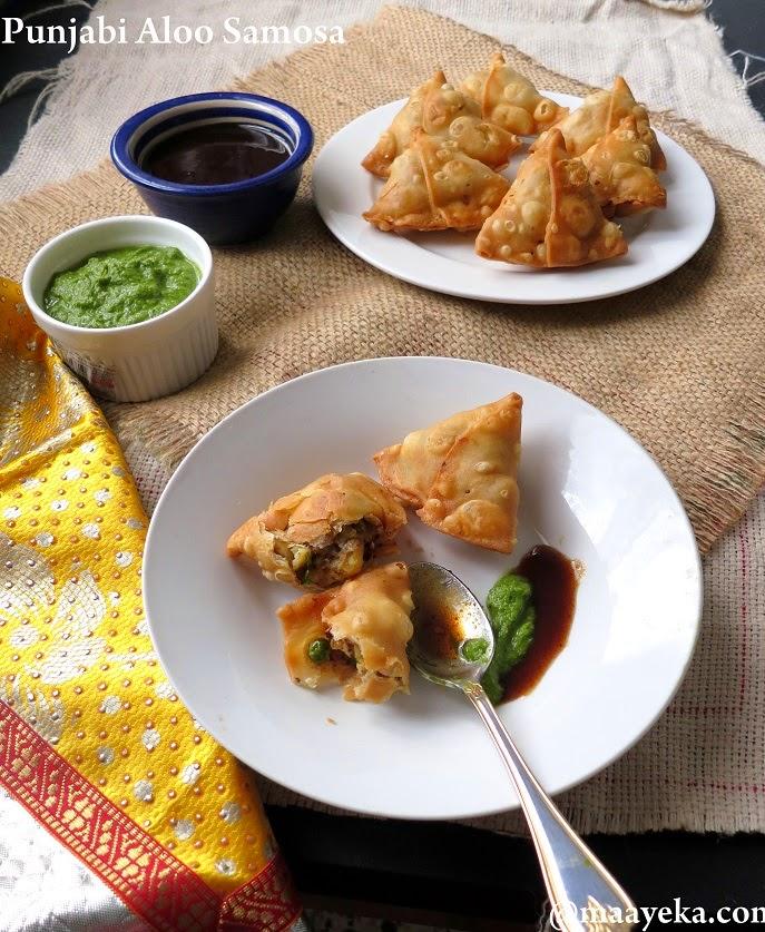 How to make aloo samosa punjabi samosa recipe maayeka forumfinder Gallery