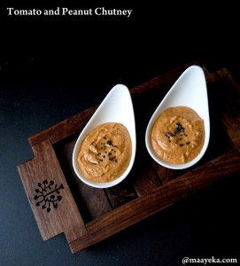 Tomato and Peanut Chutney