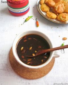 Amchoor ki Meethi Chutney, Saunth Chutney Recipe