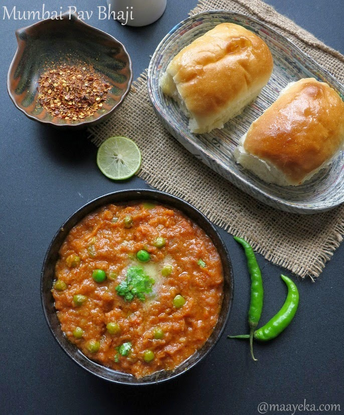 how to make mumbai style pav bhaji