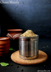 Chaas Ka Masala – Spice Mix To make Butter Milk