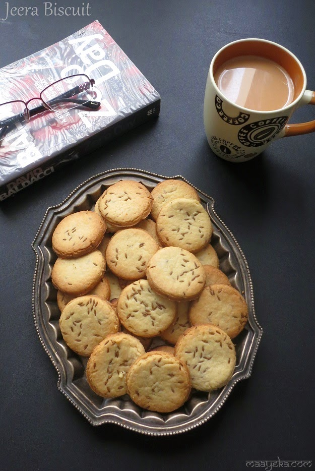 bakery style cumin cookies biscuit