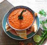 Muhammara Dip, Roasted Bell Pepper and Walnut Dip