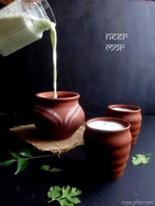 Neer Mor Recipe ,Spiced Buttermilk