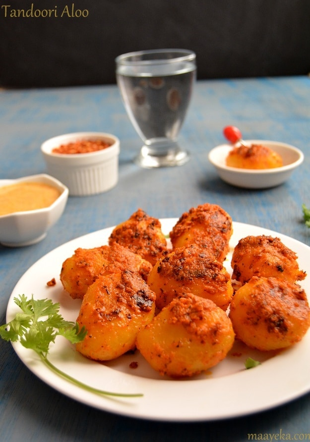 tandoori aloo recipe