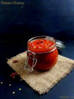 Tangy Tomato Chutney Recipe, Tomato Thokku Recipe