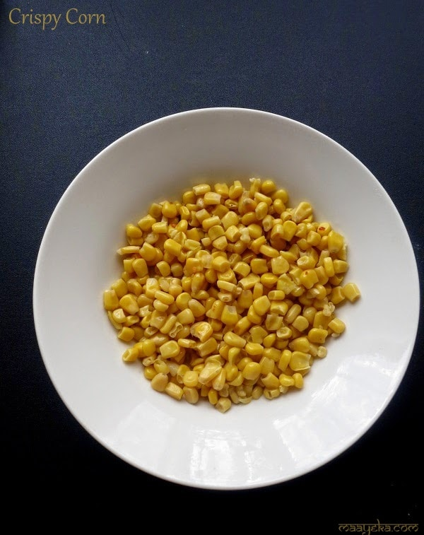 crispy fried corn