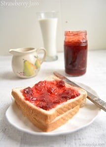 Homemade Strawberry Jam Recipe , How To Make Strawberry Jam