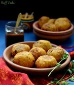 Buff Vada Recipe, How To Make Nariyal Kachori
