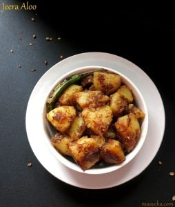 Jeera Aloo Recipe, Potato Roast