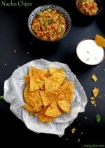 How to Make Tortilla Chips, Nacho Chips