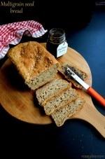 Multigrain Bread Recipe, How To Make Healthy Multigrain Bread