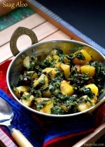 Saag Aloo Recipe, How To Make Saag Aloo