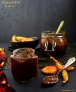 Date Tamarind Chutney/Khajoor Imli Ki Chutney