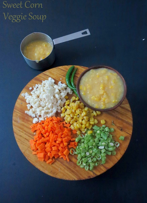 cjinese sweet corn and vegetable soup