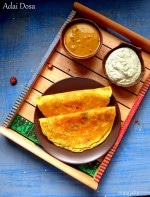 Adai Recipe, How to Make Adai Dosa