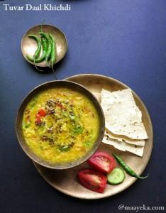 Tuvar Daal Khichdi Recipe