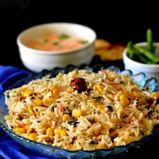 corn methi rice