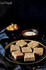 Golpapdi Recipe , How To Make Sukhdi, Kasaar