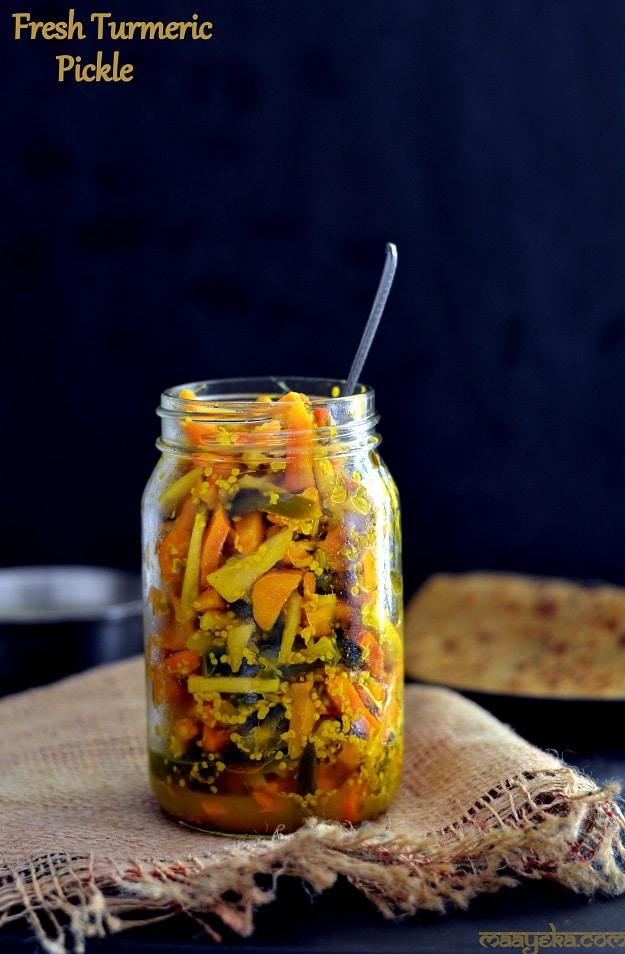 turmeric pickle
