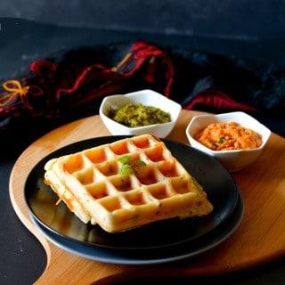 waffle-uttapam