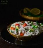 Mooli Lachcha Salad, , Grated Radish Salad