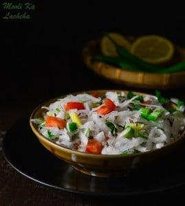 Mooli Lachcha, Grated Radish Salad