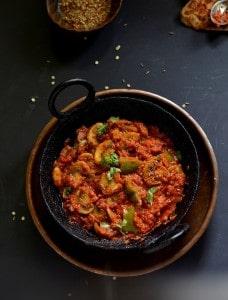 Kadai Mushroom Recipe, How To Make Kadai Mushroom