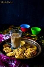 Masala Mathri Recipe, Khajali Recipe